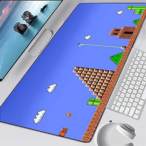 estera escritorio de la computadora 800x300x3mm | Alfombrilla de ratón XXL | tapete de mesa / tamaño grande | precisión y velocidad mejoradas | base de goma para un agarre estable en superficies lisas
