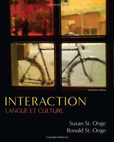 Interaction: Langue et culture (Available Titles iLrn: Heinle Learning Center)