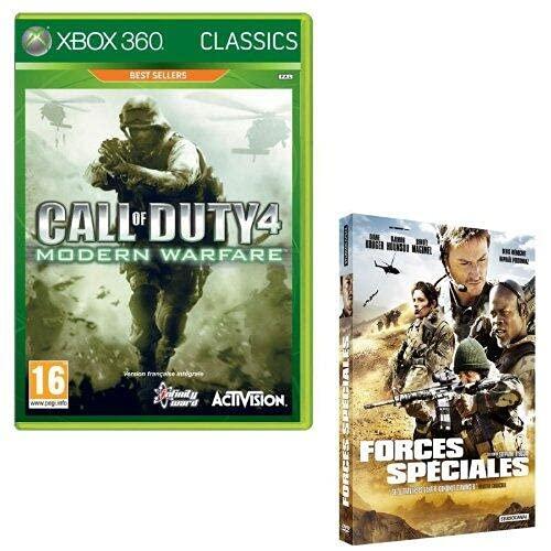 Call of Duty Modern Warfare 4 - classics + DVD forces spéciales [Importación francesa]
