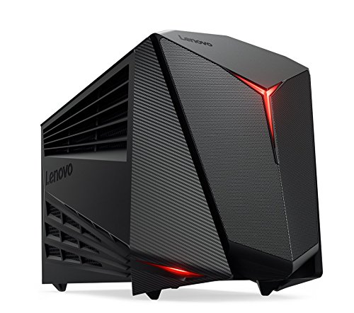 Lenovo ideacentre Y720 Cube-15 - Gaming Tower Desktop Computer (Intel Core i5-7400 / AMD Radeon RX 480 / 8GB / 1TB / Windows 10 Signature Image) 90H2003VUS