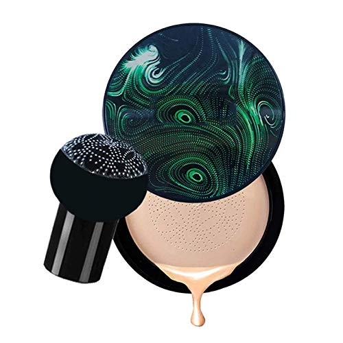 Reuvv cc Creme, Damen Pilz Kopf Luftpolster cc Creme Concealer Grundierung, Anti-Aging Feuchtigkeitscreme Concealer Flawless Gesicht Make-Up und Hautpflege Werkzeuge