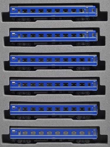 KATO Nゲージ 24系 寝台特急 ゆうづる 増結 6両セット 10-812 鉄道模型 客車
