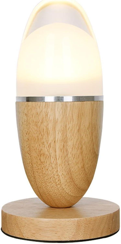 Venta barata Rishx Oval Oval Oval Creativo Madera Maciza Lámpara de Mesa Lámpara de Mesa LED de Madera postmoderna Pantalla de Cristal Lámpara de Escritorio Dormitorio de Noche Arte Decorativo Luz de Noche de Madera  buena calidad