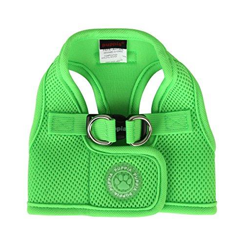 Puppia PAPA-AC1325 Neon Soft Geschirr B, XS, grün