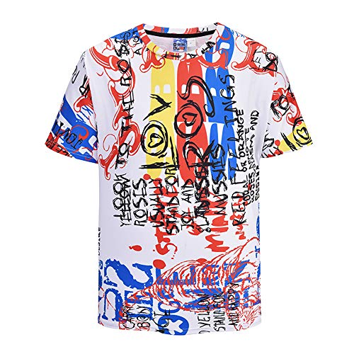 Mr.1991INC & Miss.GO DX805007 Camiseta 3D para Hombres y Mujeres, remeras de...