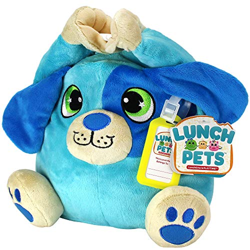 Lunch Pets Insulated Kids Lunch Box – As Seen on TV Plush Animal and Lunch Box Combination - HungryPup