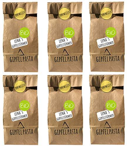 Gipfelpasta Bio Pasta Lenas Gipfelstürmer Nudel Hartweizen 6er Pack (6x250g)…
