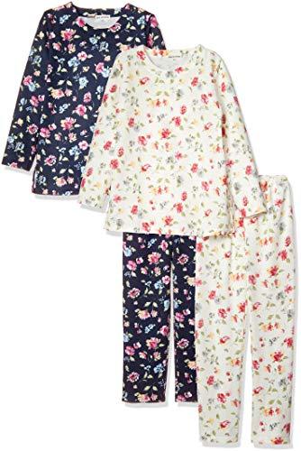 『[ベルーナ] 132682 裏が綿で肌に優しいトラベルパジャマ2着組 レディース 2着組 日本 L (日本サイズL相当)』のトップ画像