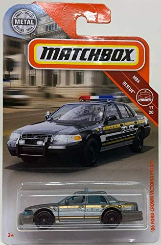 Matchbox '06 Ford Crown Victoria Police