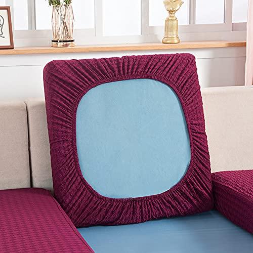 FUHU-SJZ - Fodera per cuscino per divano, in elastan, per divano, divano, divano, divano, antiscivolo, per bambini, 2 posti, colore: Rosa