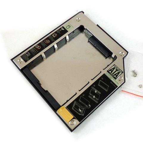 Wechselrahmen für SATA IBM /Lenovo Thinkpad Slim Ultrabay, passend für T400, T400S, T410, T410S, T420S, T500, W500