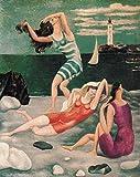 THTHTH Famoso Pintor español Picasso Poster Lienzo Abstracto Arte de la Pared Pinturas e Impresiones Vintage para la Sala de Estar Decoración del hogar Imagen 50x70cm x1 Sin Marco