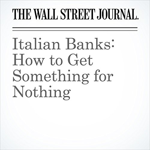 Italian Banks: How to Get Something for Nothing copertina