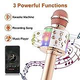 Immagine 1 fede microfono karaoke bluetooth wireless