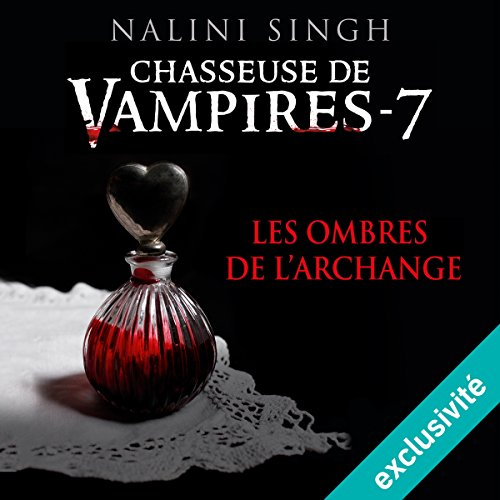 Les ombres de l'archange audiobook cover art