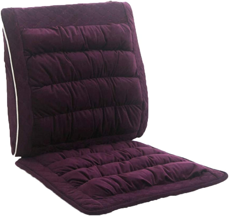 JianMeiHome Kissen Stuhlkissen Sitzkissen Büro Kissen EIN Kissen zu Hause Esszimmer Stuhl Kissen (Farbe   lila)