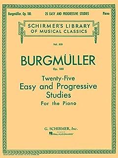 Friedrich Burgmuller: Schirmer Library of Classics Volume 500 Piano Solo