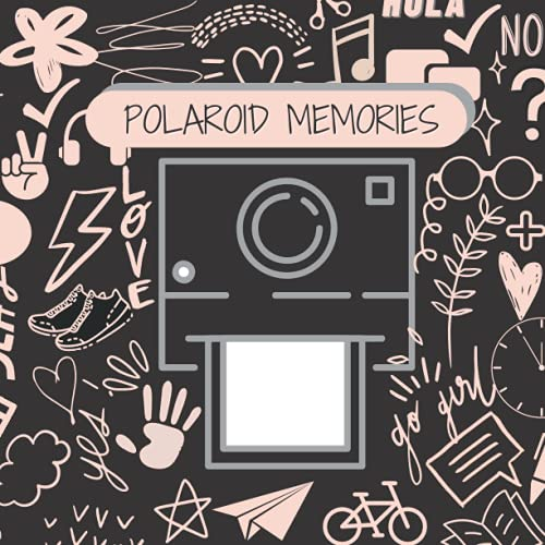 Polaroid Memories: Square Scrapbook Photo Album for Polaroid Photos with Writing Space   Suitable for Fujifilm Instax Mini 7s 8 8+ 9 25 26 50s 70 90 Instant Camera and more