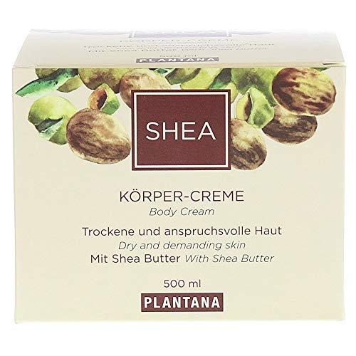 Plantana Shea Butter Körpercreme, 500 ml