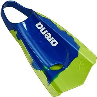 Navy//Fluorescent Green 9.5-10.5 Arena Powerfin PRO Swim Training Fins