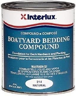 Interlux Y214QT Boatyard Bedding Compound (Natural, Quart)