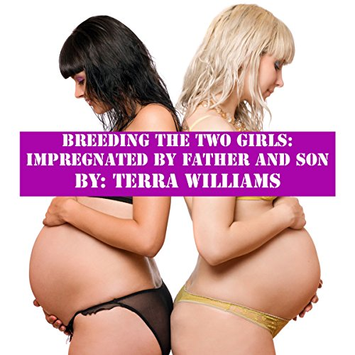Breeding the Two Girls audiobook cover art