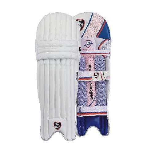 SG Ecolite Light Weight Cricket Batting Leg Guard Pads (Color May Vary)