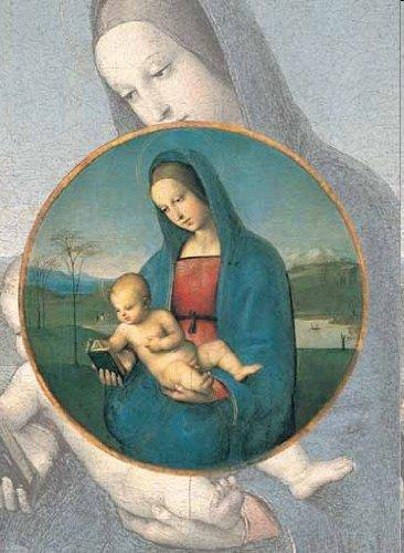 2801N15865G   De Oro RAFFAELLO Virgen con Bambino Pieza de Rompecabezas 1000