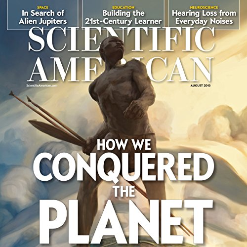 Scientific American, August 2015 audiobook cover art