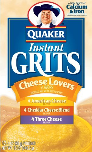 online shop Quaker Instant Grit Cheese Lovers 6 Max 40% OFF - 12oz Pack Unit