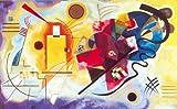 Clementoni '31425 Museum Collection–kandinskij: Amarillo de Color Rojo de Azul, Puzzle de 1000Piezas, 1000Piezas
