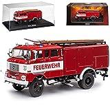 alles-meine.de GmbH IFA W50 TLF 16 Freiwillige Feuerwehr 1965-1990 1/72 Atlas Modell Auto mit individiuellem Wunschkennzeichen