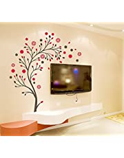 Decals Design 'Beautiful Magic Tree with Flowers' Wall Sticker