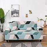 WXQY Funda de sofá con impresión para Sala de Estar, Funda reclinable elástica, Estilo Abstracto Europeo, Funda de sofá Antideslizante Funda de sofá A9 1 Plaza