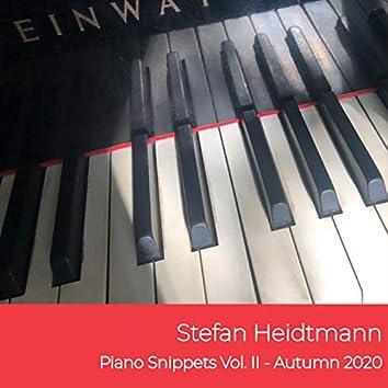 Piano Snippets, Vol. II - Autumn 2020