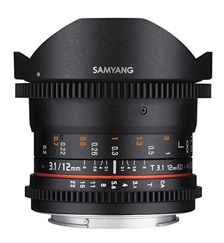 Samyang VDSLR II 12mm T3.1 Ultra Wi…