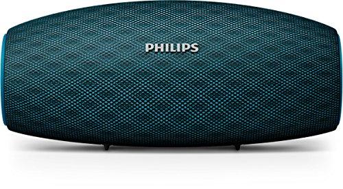 Philips EverPlay - Bluetooth Lautsprecher (30 M Verbindung, Schnellladeoption, 10 Stunde Akku, 10 W) blau - BT6900A
