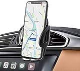 IZUKU Handyhalter fürs Auto Handyhalterung Auto 2 St. Klammer Smartphone Halterung KFZ Kratzschutz mit 2 Klammer für die Lüftung Handyhalterung Auto Lüftung Universal für iPhone Samsung SonyHuawei