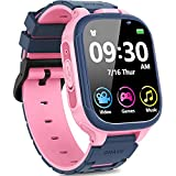 Smart Watch for Kids with 14 Game Dual Camera Video Recording Music Player Smartwatch Boys Girls Electronic Learning Toys 1.54' IPS Touch Screen 12/24 hr Games Watch Child Birthday Gift