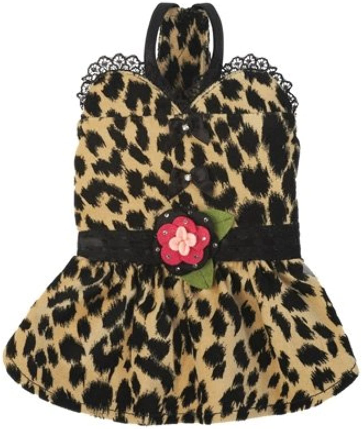 Gia Dress for Dogs with Leapoard Prints