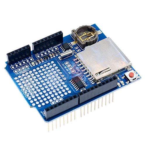 DS1307 Logging Recorder Data Logger Shield Data Recorder Module with Micro SD Slot V1.0 for Arduino UNO