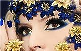 oioiu Moda Creativa Nail Art decoracin del hogar Cartel nrdico Lienzo Pintura Tienda Sala de Estar Familiar Dormitorio Imagen Arte de la Pared Personaje Pintura de Pared sin Marco