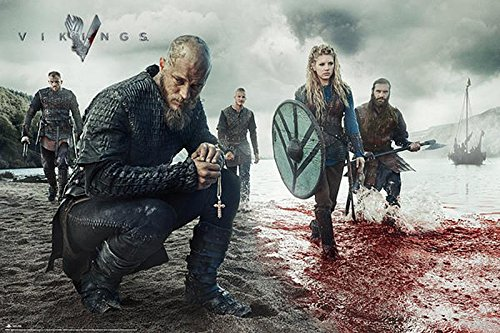 Close Up Vikings Poster Blood Landscape (91,5cm x 61cm)