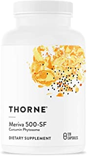 Thorne Research - Meriva 500-SF (Soy Free) - Curcumin Phytosome Supplement - 120 Capsules