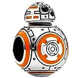 Annmors Abalorios Charms Colgantes de BB-8 Cuentas Plata de Ley 925 con Compatible con Pulsera Pandora & Europeo, Charms para Mujer Niña