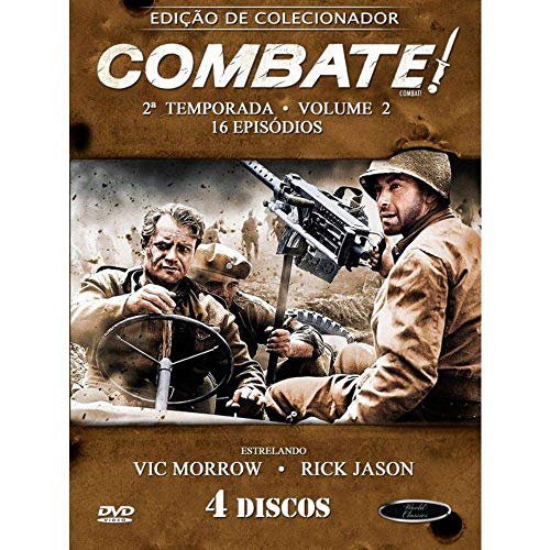Combate 2ª Temporada Volume 2 Digibook 4 Discos