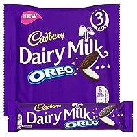 オレオ3×41グラムとキャドバリー・デイリーミルク (x 4) - Cadbury Dairy Milk with Oreo 3 x 41g (Pack of 4) [並行輸入品]