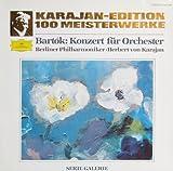 Karajan-Edition 100 Meisterwerke - Bartok: Konzert für Orchester [Serie Galerie, inkl. Kunstdruck-Beilage] [Vinyl LP] [Schallplatte]