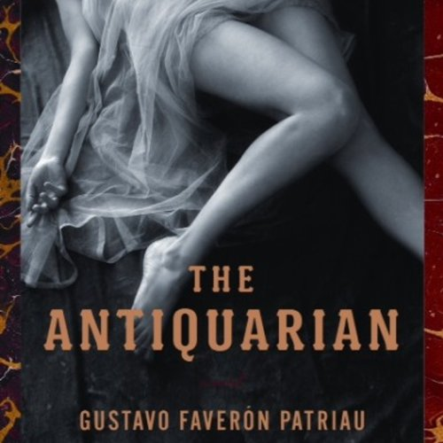 The Antiquarian audiobook cover art