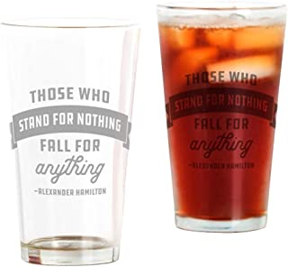 CafePress Alexander Hamilton Quote Pint Glass, 16 oz. Drinking Glass